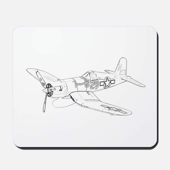 Vought F4U Corsair Mousepad