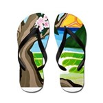 Green Dream Flip Flops
