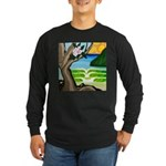 Green Dream Long Sleeve Dark T-Shirt