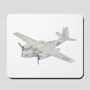 Douglas A-26 Invader Mousepad