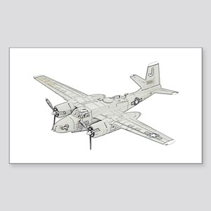 Douglas A-26 Invader Sticker (Rectangle)