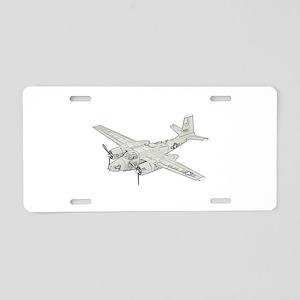 Douglas A-26 Invader Aluminum License Plate