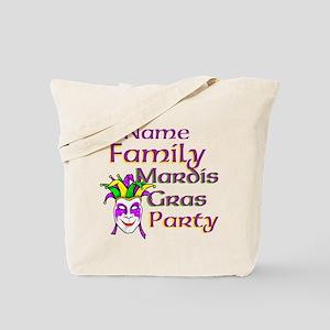 Customizable Mardi Gras Tote Bag