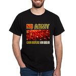 No Army Black T-Shirt