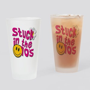 Stuck in 70s Drinking Glass