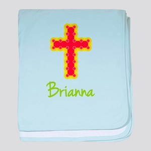 Brianna Bubble Cross baby blanket