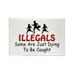 Just Dying Rectangle Magnet (100 pack)