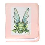 Fairy Frog baby blanket