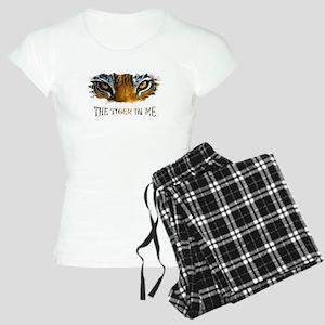 the tiger in me Women's Light Pajamas