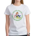 I'm Late, I'm Late! Women's T-Shirt