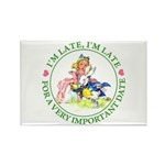 I'm Late, I'm Late! Rectangle Magnet (100 pack)