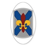 256th Infantry BCT Sticker (Oval)