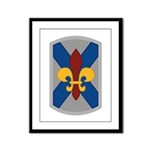 256th Infantry BCT Framed Panel Print