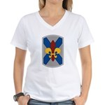 256th Infantry BCT Women's V-Neck T-Shirt