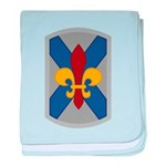 256th Infantry BCT baby blanket