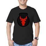 34th Infantry Men's Fitted T-Shirt (dark)