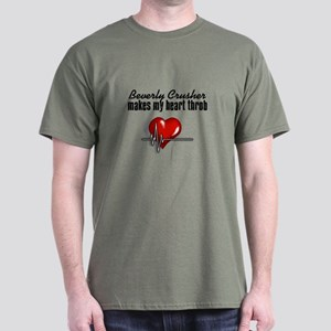 Beverly Crusher makes my heart throb Dark T-Shirt