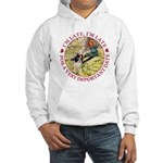 I'm Late, I'm Late! Hooded Sweatshirt