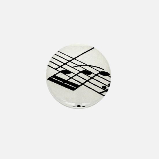Musical Notes Mini Button
