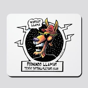 Wholly Llama Mousepad