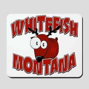 Whitefish Elk Mousepad