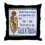 New Orleans Art Throw Pillow