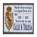 New Orleans Art Tile Coaster