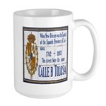 Cajun French Who Dat Large Mug