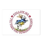 Follow Me To Wonderland Postcards (Package of 8)