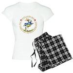 Follow Me To Wonderland Women's Light Pajamas
