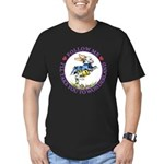 Follow Me To Wonderland Men's Fitted T-Shirt (dark