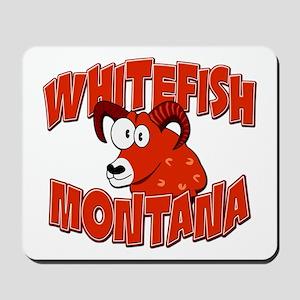 Whitefish Bighorn Mousepad