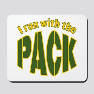 I run with the Pack Mousepad