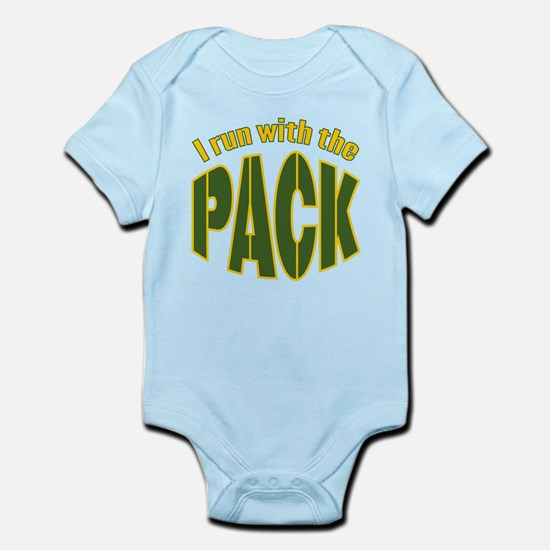 I run with The Pack Infant Bodysuit