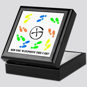 Did you waypoint the Car? Keepsake Box