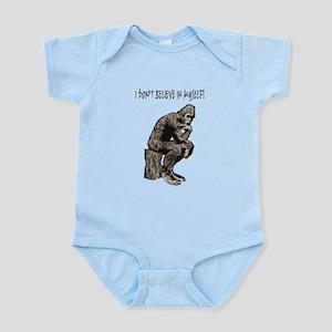 I DON'T BELIEVE IN MYSELF Infant Bodysuit