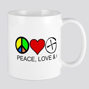 Peace, Love & Cache Mug