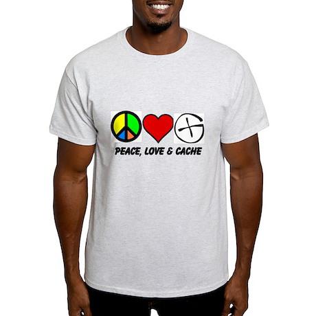 Peace, Love & Cache Light T-Shirt