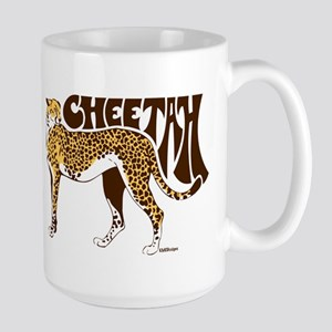Cheetah 15 oz Ceramic Large Mug