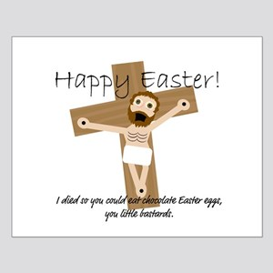 Happy Easter Jesus! Small Poster