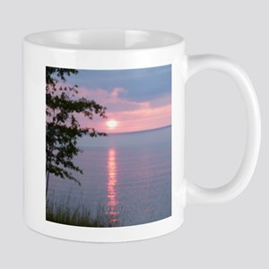 Sunset Lake Superior Mug