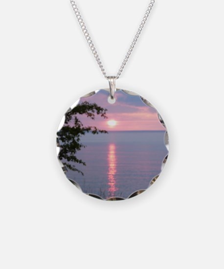 Sunset Lake Superior Necklace