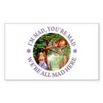 I'm Mad, You're Mad Sticker (Rectangle 10 pk)
