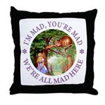 I'm Mad, You're Mad Throw Pillow