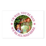 I'm Mad, You're Mad Postcards (Package of 8)