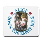 Alice Down the Rabbit Hole Mousepad