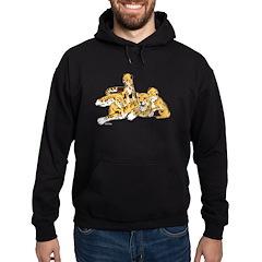 Cheetah Family Hoodie (dark)