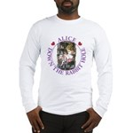 Alice Down the Rabbit Hole Long Sleeve T-Shirt