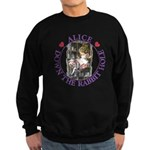 Alice Down the Rabbit Hole Sweatshirt (dark)