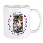 Alice Down the Rabbit Hole Mug